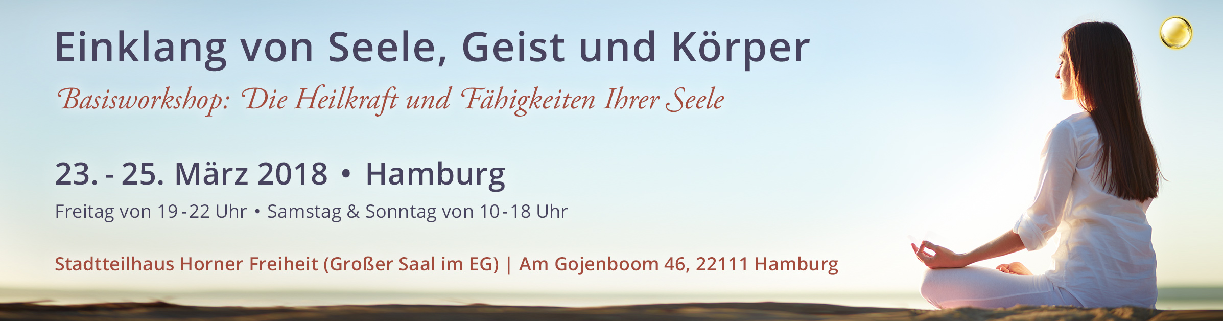 Einklang von Seele, Geist und Körper – Einführung in die Seelenheilung | Hamburg