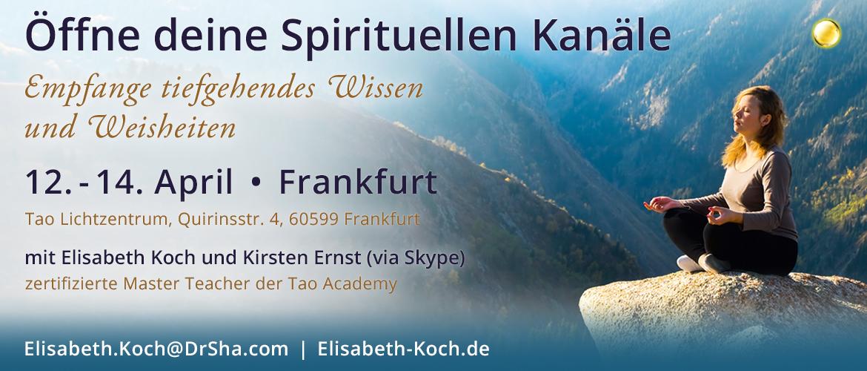 20190412   Öffne deine Spirituellen Kanäle