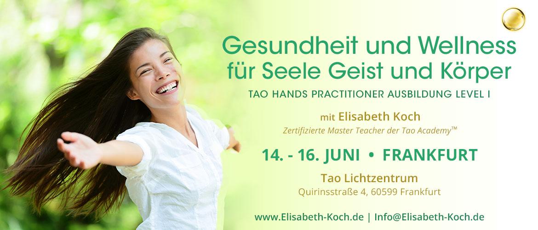 20190614 | Einklang von Seele, Geist und Körper – Einführung in die Seelenheilung | Frankfurt am Main