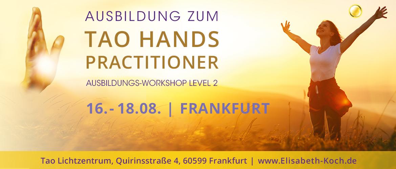 20190816 | Tao Hands Practitioner – Ausbildung